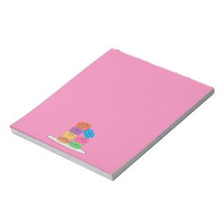 Happy Macarons Notepad