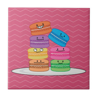 Happy Macarons Tile
