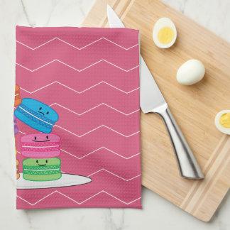 Happy Macarons Towels