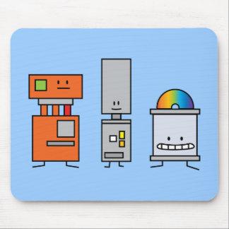 Happy Machine Robots Mouse Pad