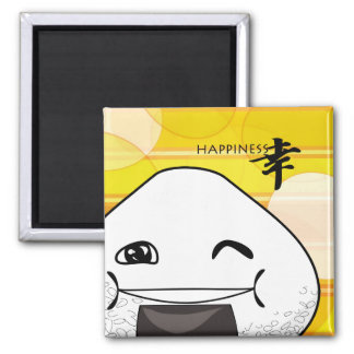 Happy magnetism 2 inch square magnet