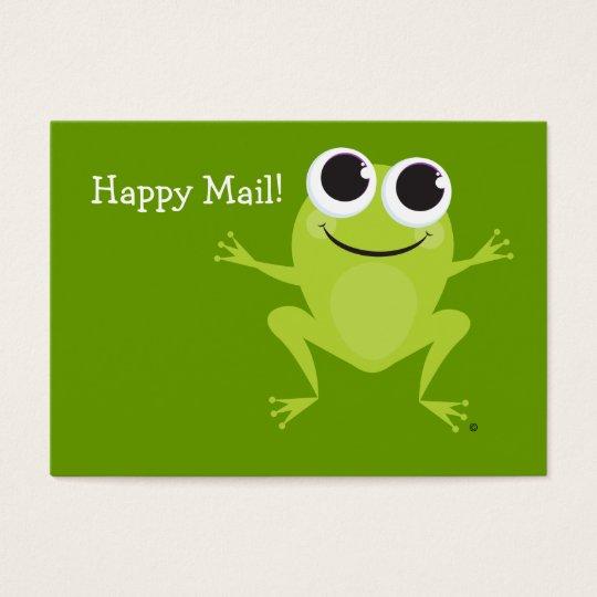 """Happy Mail"" Cute frog card - Fun Gift Ideas!"