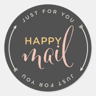Happy Mail Sticker with Arrows