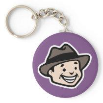 Happy Man Keychain