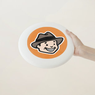 Happy Man Wham-O Frisbee 80a60377aa9a