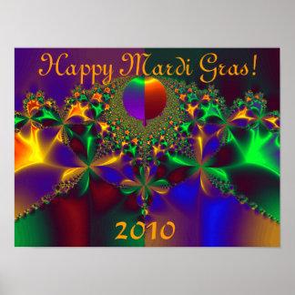 Happy Mardi Gras!  2010 Print