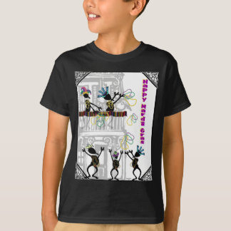 Happy Mardi Gras--Balcony Scene T-Shirt