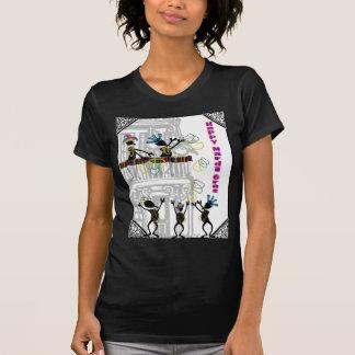 Happy Mardi Gras--Balcony Scene T Shirts