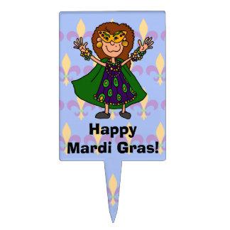 Happy Mardi Gras! Cake Topper