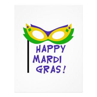 HAPPY MARDI GRAS LETTERHEAD