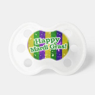 Happy Mardi Gras Poster Pacifier