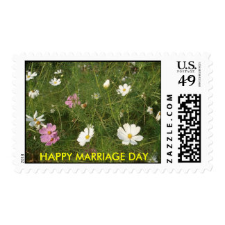 HAPPY MARRIAGE DAY STAMP