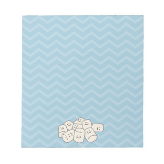 Happy Marshmallow Buddies Note Pad