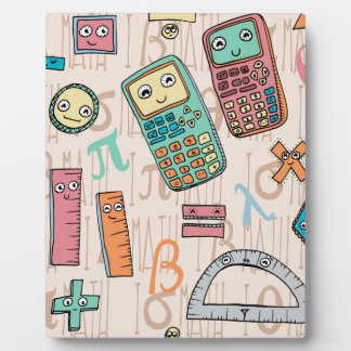 Happy Math Plaque