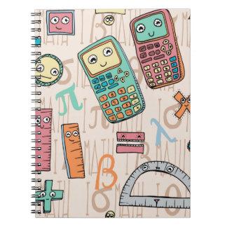 Happy Math Spiral Notebook