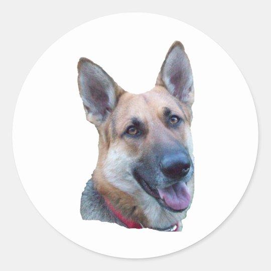 Happy Max Classic Round Sticker
