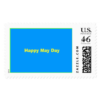 Happy May Day Postage