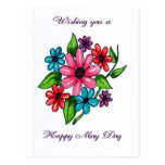 Happy May Day Postcard