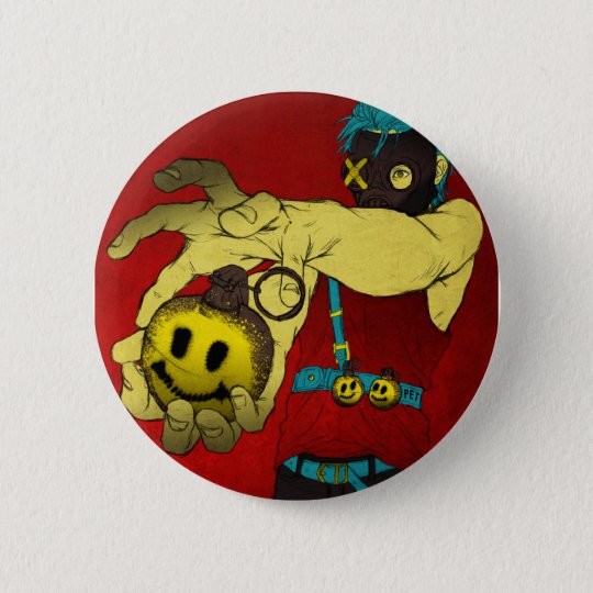 Happy Meal Pinback Button