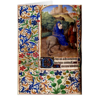 Happy Medieval Christmas Card