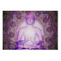 Happy Meditating Buddha Large Business Card (<em>$23.20</em>)