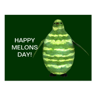 Happy Melons Day! Postcard
