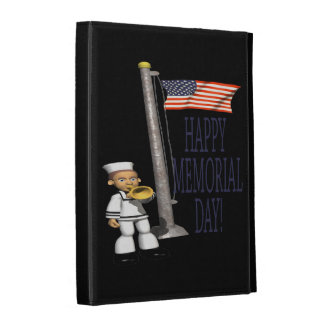 Happy Memorial Day 1.png iPad Folio Covers