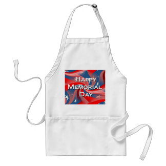 Happy Memorial Day Adult Apron