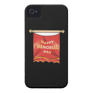 Happy Memorial Day Banner Case-Mate iPhone 4 Case