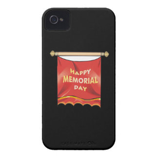 Happy Memorial Day Banner Case-Mate iPhone 4 Cases