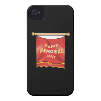 Happy Memorial Day Banner iPhone 4 Covers