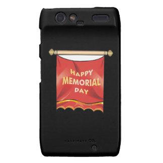 Happy Memorial Day Banner.png Motorola Droid RAZR Cover