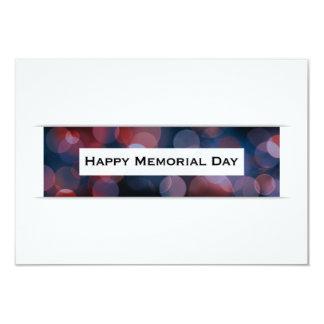 Happy Memorial Day (bokeh) Card