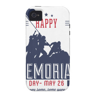Happy Memorial Day iPhone 4 Cases