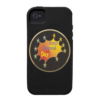Happy Memorial Day Vibe iPhone 4 Cases