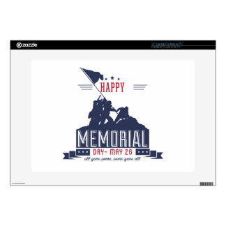 Happy Memorial Day Decal For Laptop