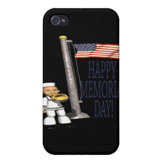 Happy Memorial Day iPhone 4 Cases