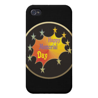 Happy Memorial Day Case For iPhone 4