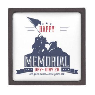 Happy Memorial Day Keepsake Box