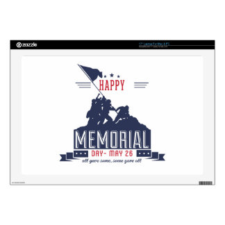 Happy Memorial Day Laptop Skin