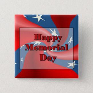 Happy Memorial Day Pinback Button
