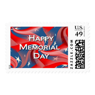 Happy Memorial Day Postage