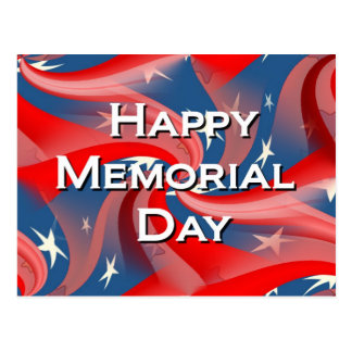 Happy Memorial Day Postcard