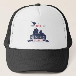 Happy Memorial Day Trucker Hat