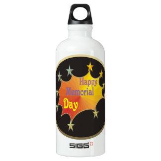 Happy Memorial Day Water Bottle