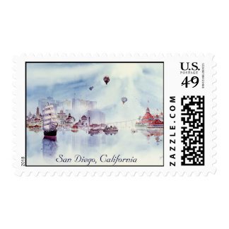 HAPPY MEMORIES LIMITED, San Diego, California Postage Stamp