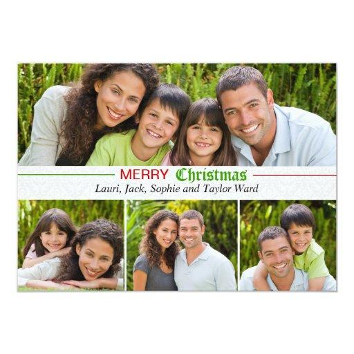 Happy Memories - Photo Holiday Card