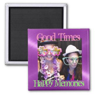 Happy Memories Reminder Refrigerator Photo Magnets