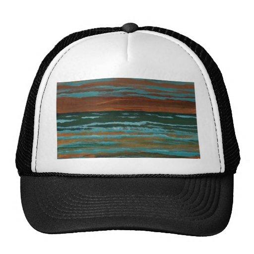 Happy Memory  CricketDiane Ocean Art Mesh Hat