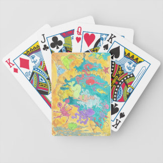 Happy Mermaid. Bicycle Playing Cards